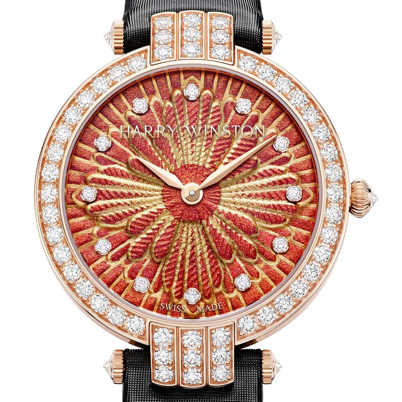 Harry Winston Premier Delicate Silk Automatic watch