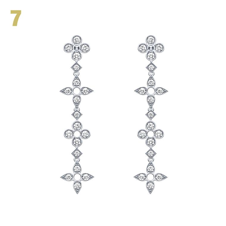 Louis Vuitton Dentelle de Monogram earrings