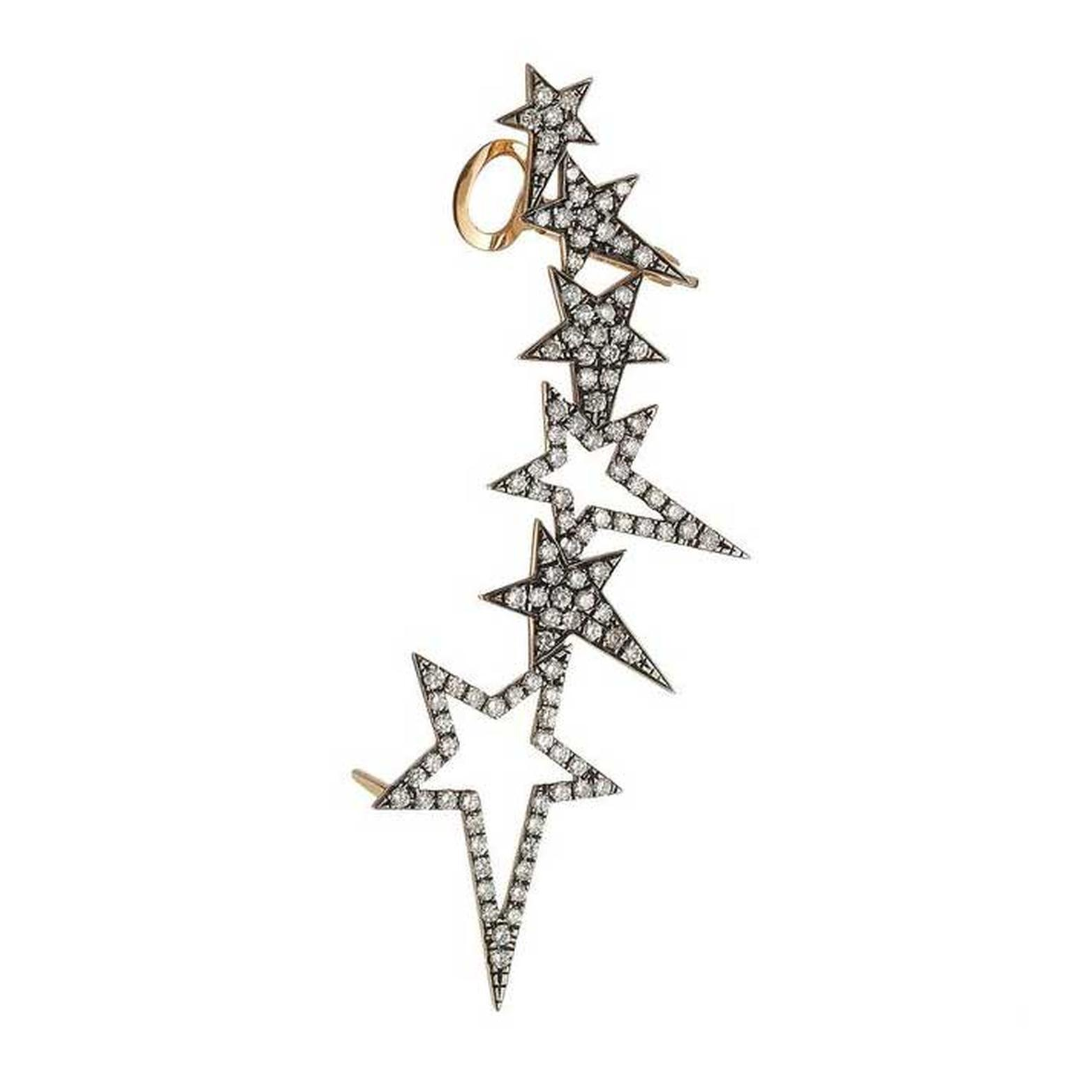 women s stars in designer black onyx earrings jewelry lyst colette diamond