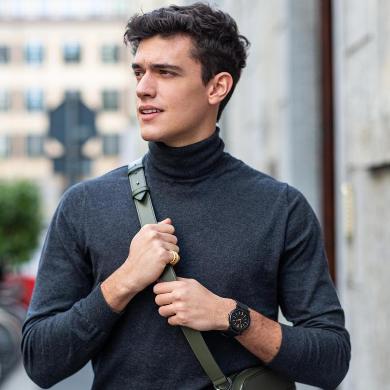 Xavier SERRANO wearing Bulgari City Special Edition 2020