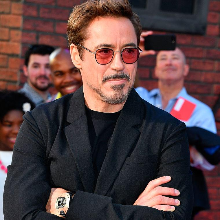 Which futuristic watch does Iron-Man wear?