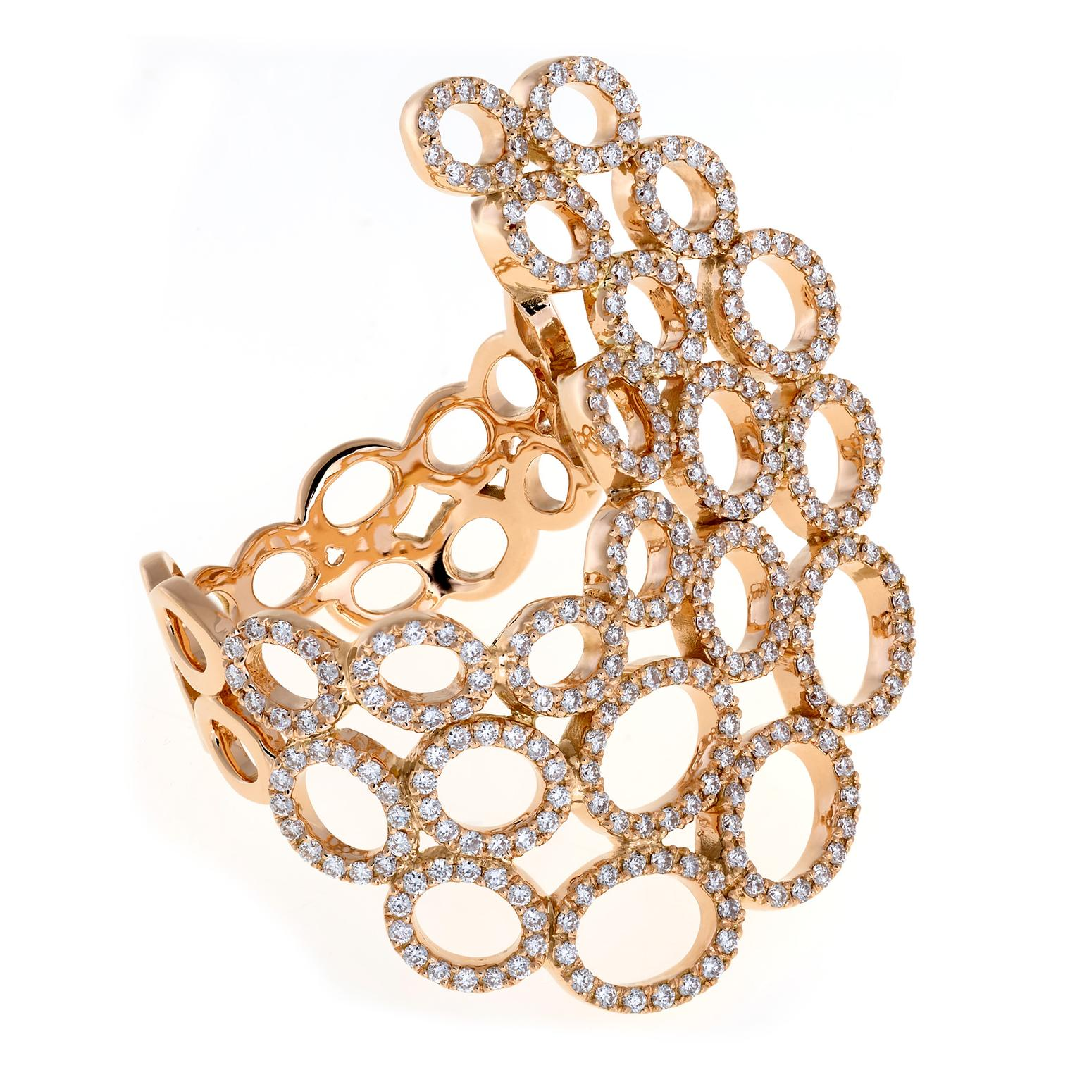 Christina Debs lace ring