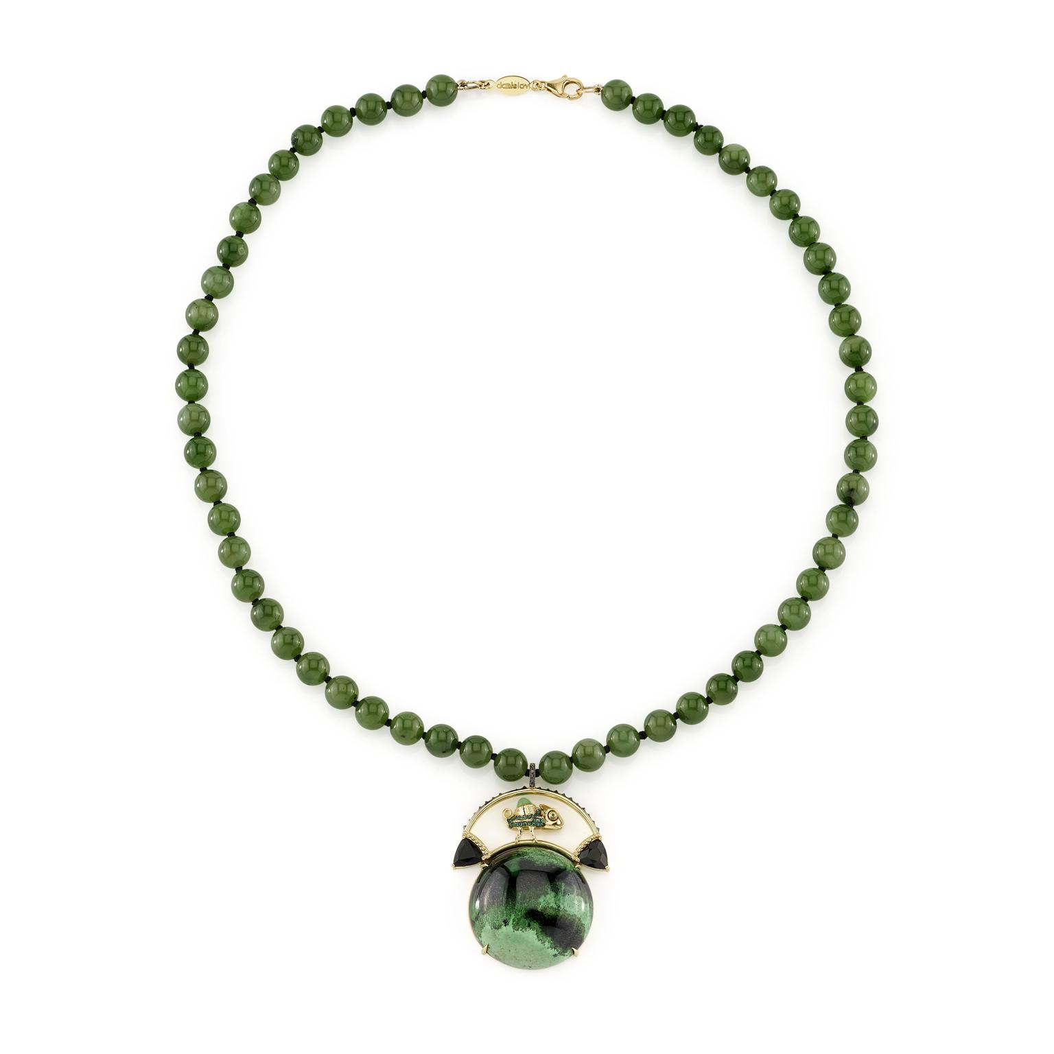 Confucius necklace from Daniela Villegas