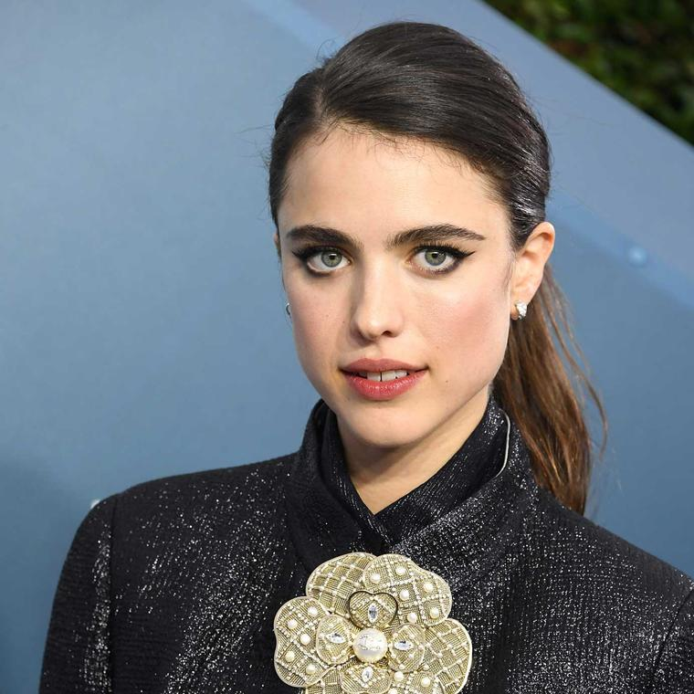Margaret Qualley Chanel jewels SAG Awards 2020