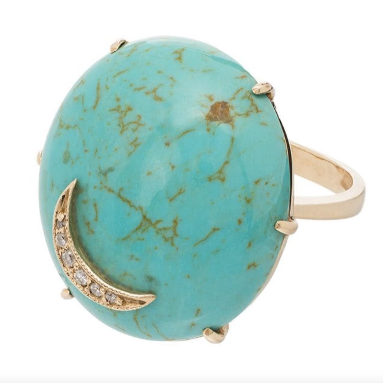 Turquoise ring by Andrea Forhman