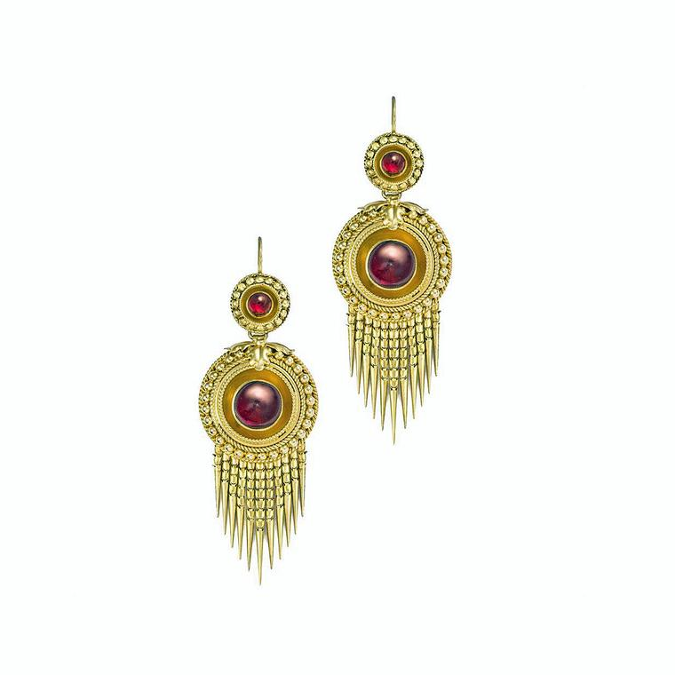 Bentley & Skinner fringe earrings