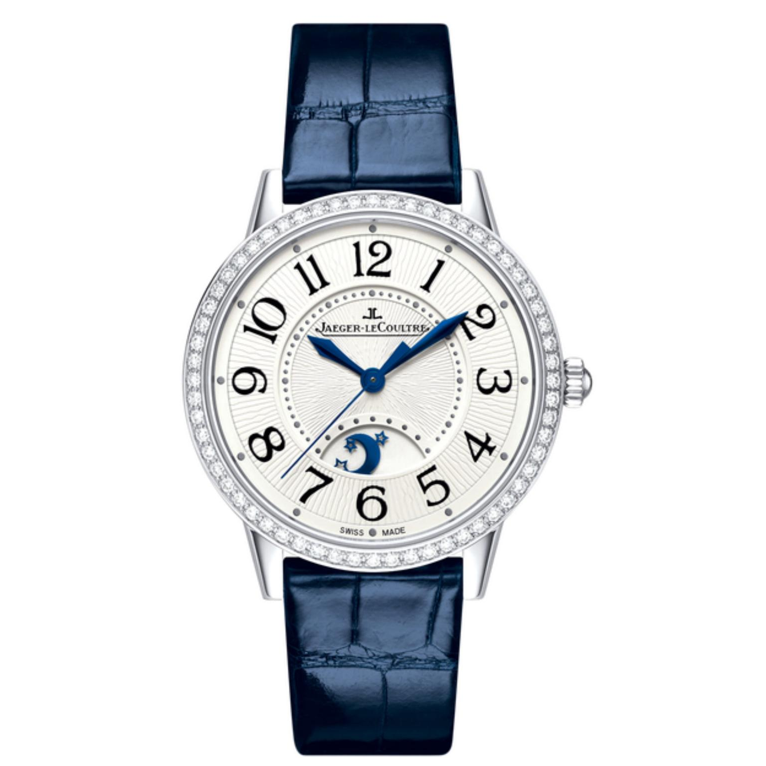Jaeger-LeCoultre Rendez-Vous Night watch with diamonds