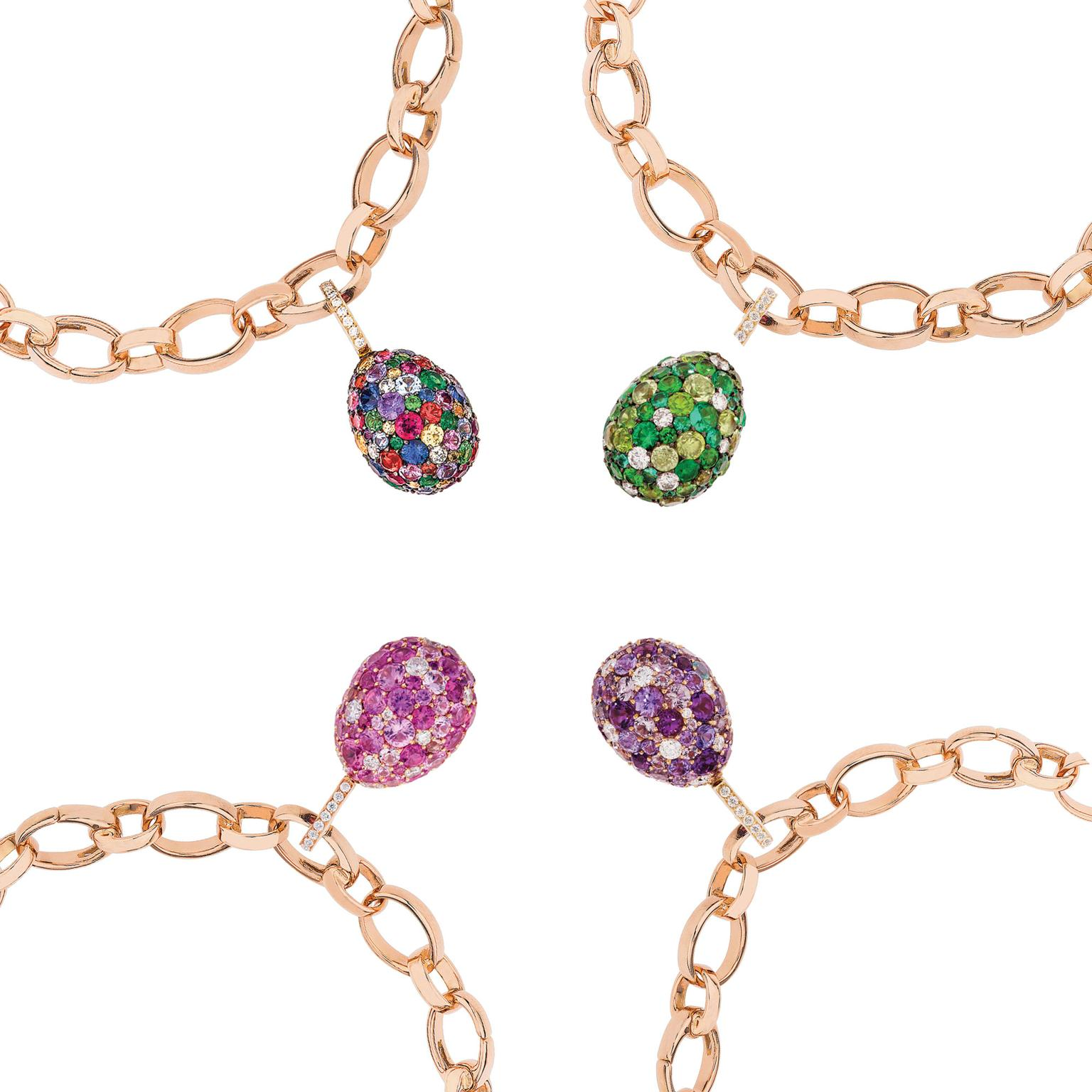 Fabergé Emotion egg charms