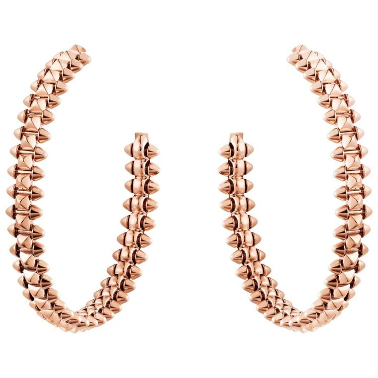 Clash de Cartier hoop earrings