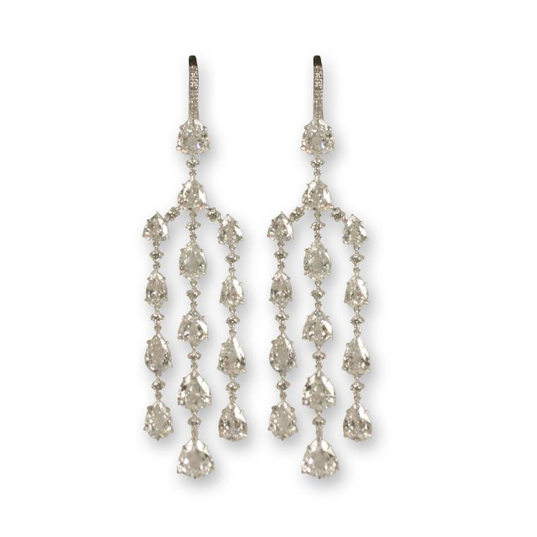 Villa diamond candelabra earrings