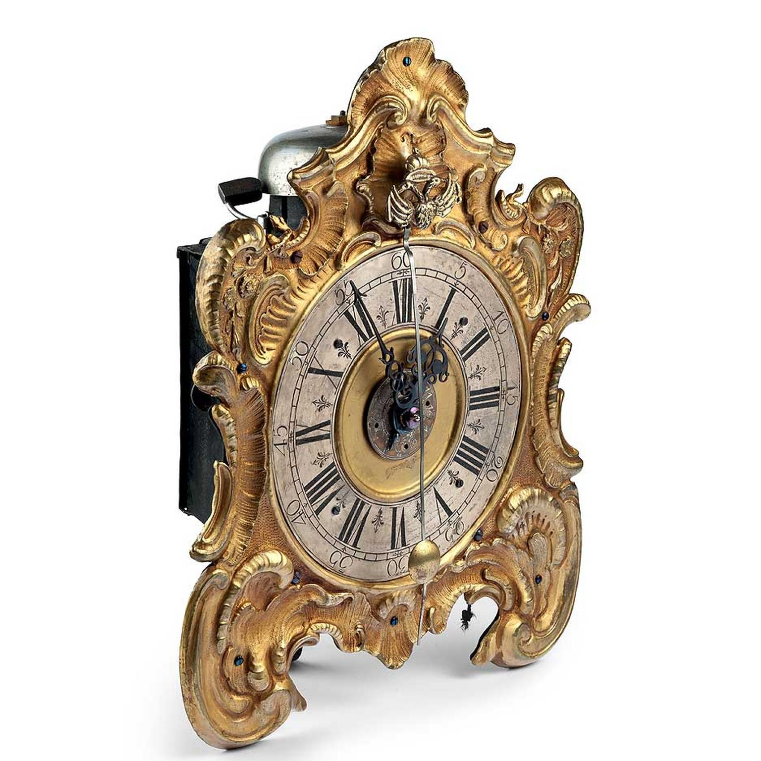 Fondation-Haute-Horlogerie-antique-clock