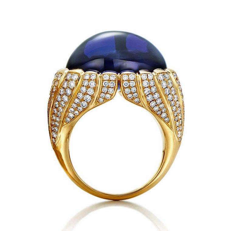 Around the world in luxury jewellery: Tanzanian tanzanites