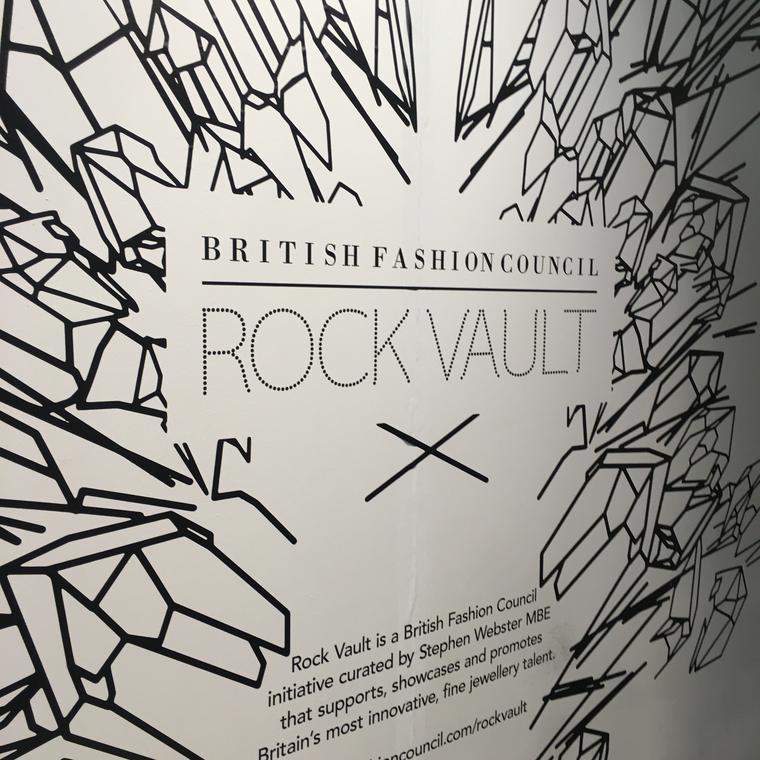 British Fashion Council - Rock Vault - London Fashion Week