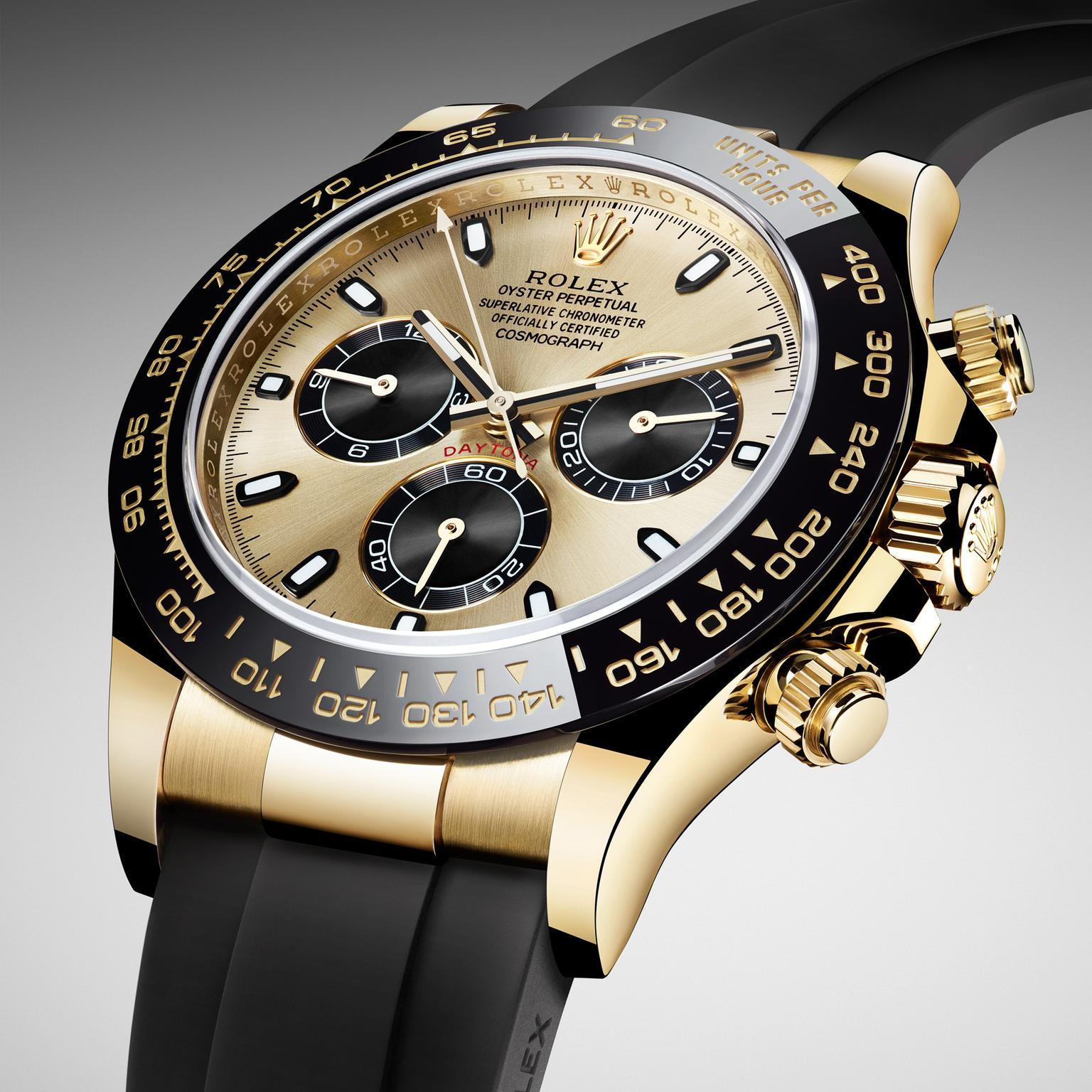 Cosmograph Daytona in yellow gold | Rolex | The Jewellery ...