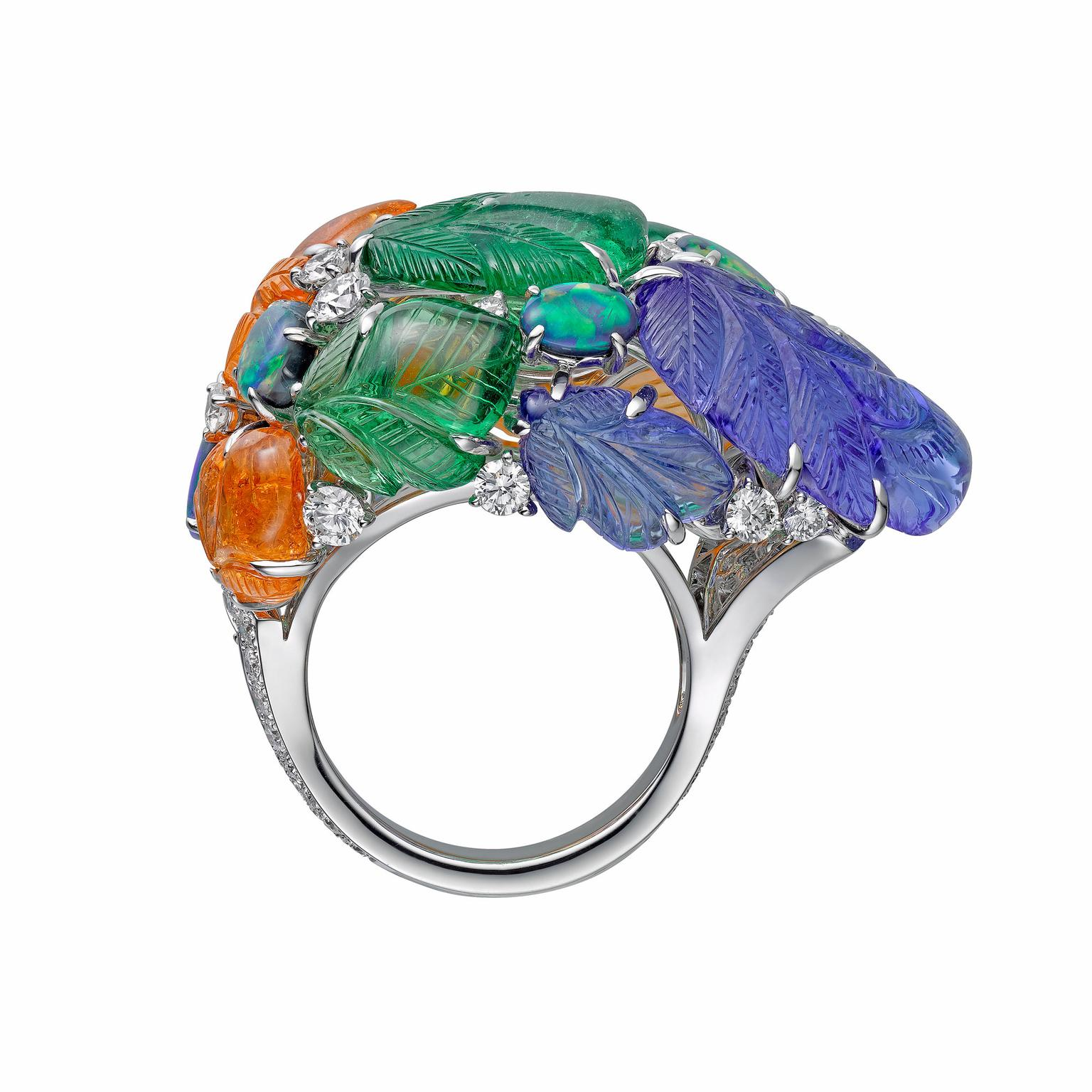 Cartier Etourdissant Pushkar high jewellery ring