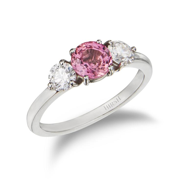 Around the world in luxury jewellery: Sri Lankan padparadscha sapphires
