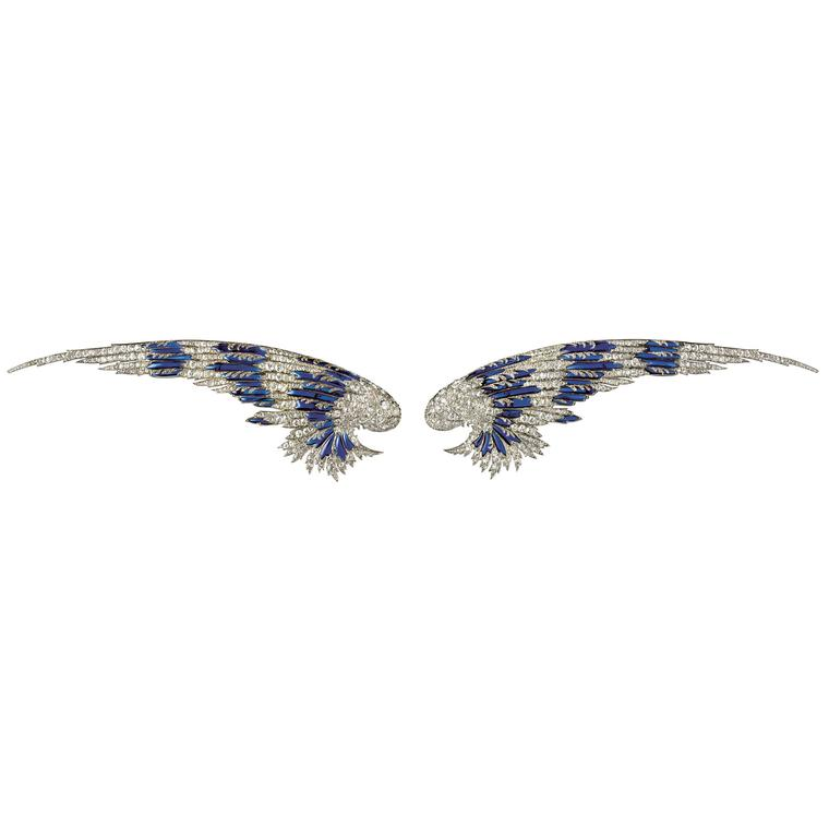 Mrs Payne Whitney's Belle Époque wings by Joseph Chaumet in 1910