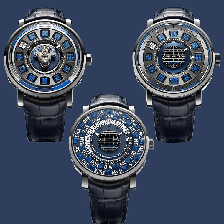 Louis Vuitton Escale Blue watches