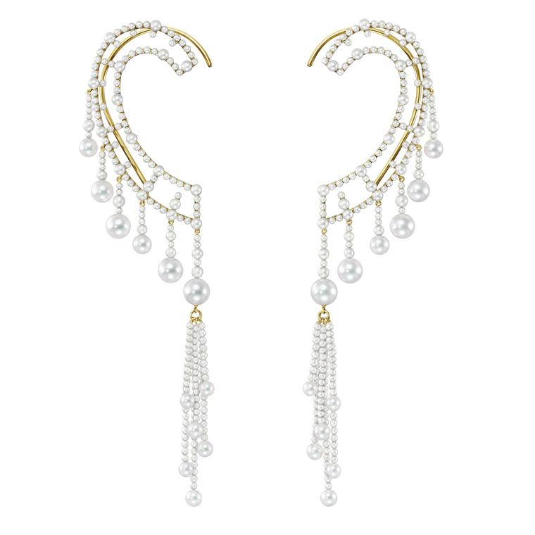 Ear cuffs enter the realms of high jewellery