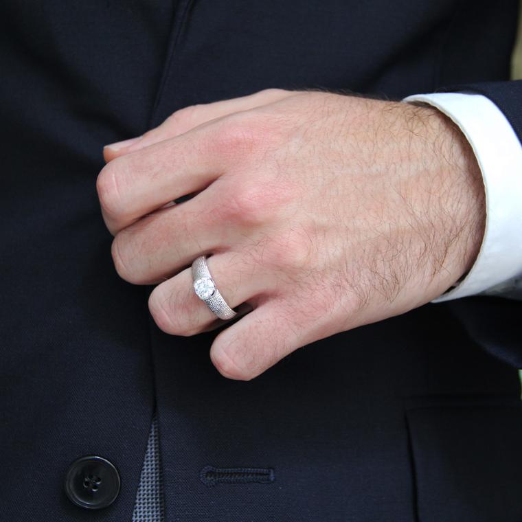 Time to shine: the best diamond engagement rings for gay men