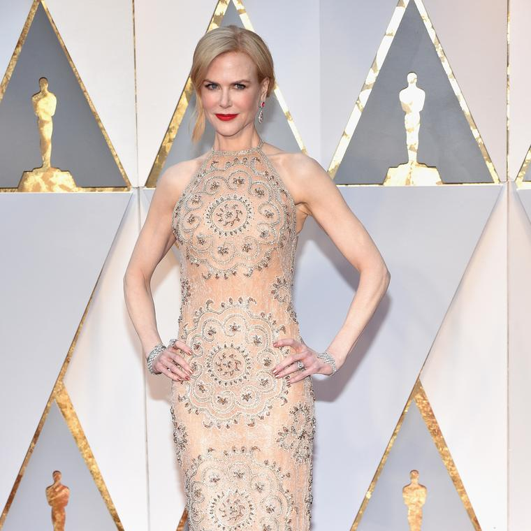 Nicole Kidman wore Harry Winston to the Oscars 2017