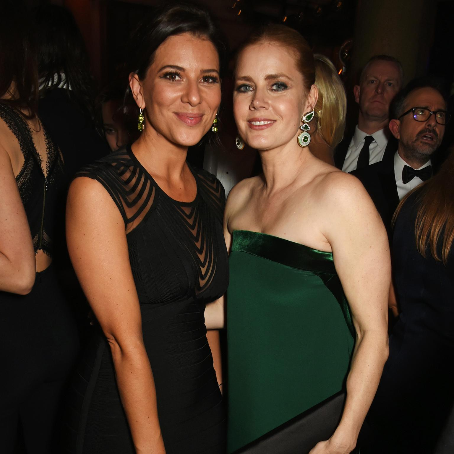 Kat Florence and Amy Adams at the BAFTAS 2017