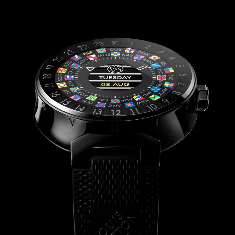 Louis Vuitton Tambour Horizon black watch
