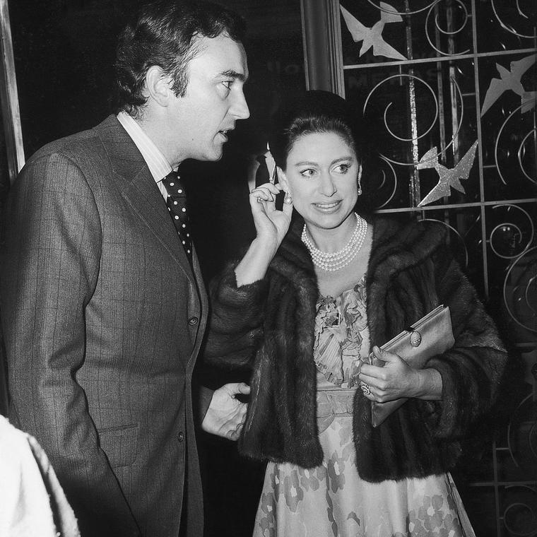 John Donald and HRH Princess Margaret