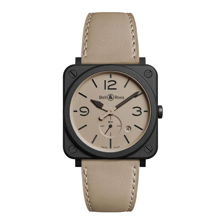 Bell & Ross BR Desert Type watch