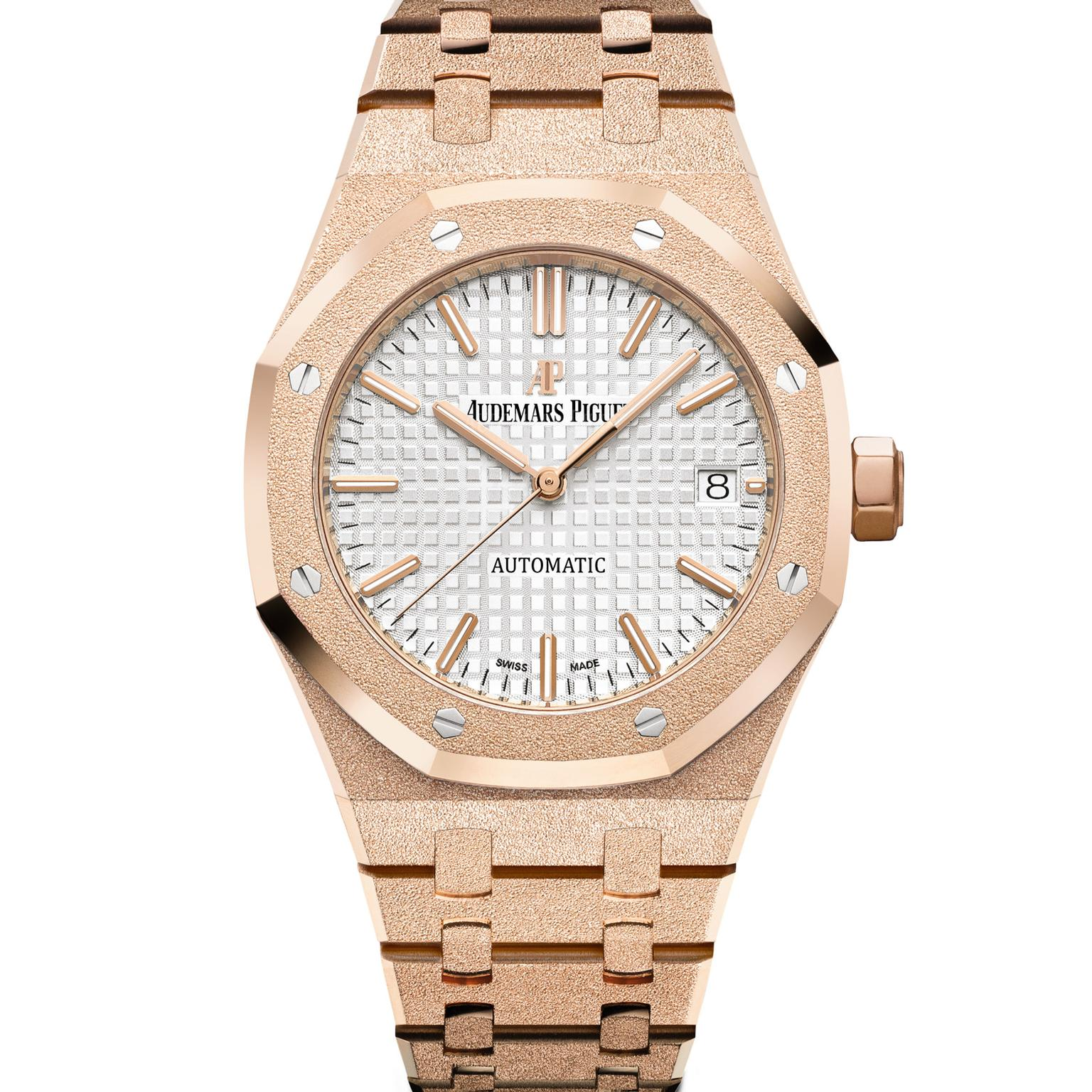 Audemars Piguet Royal Oak Frosted Gold watch