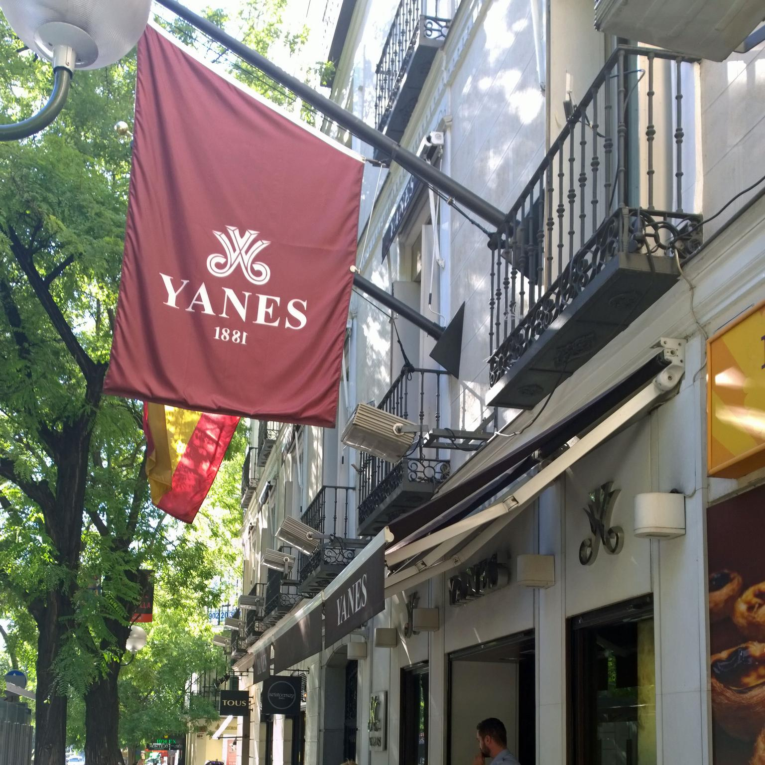 Yanes Madrid boutique