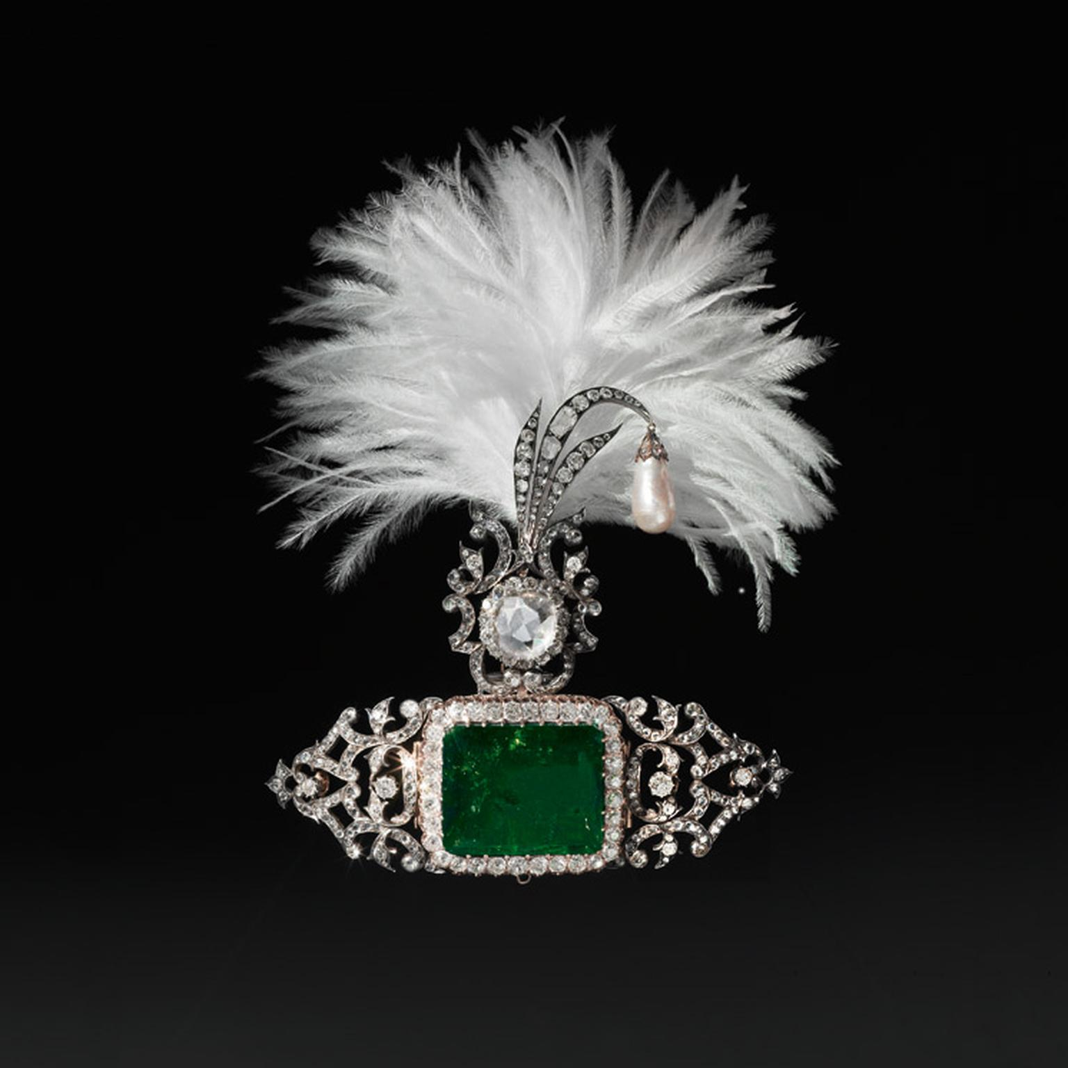 Turban ornament by Cartier