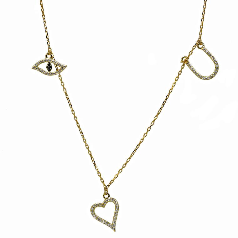 Khai Khai Eye Luv U necklace