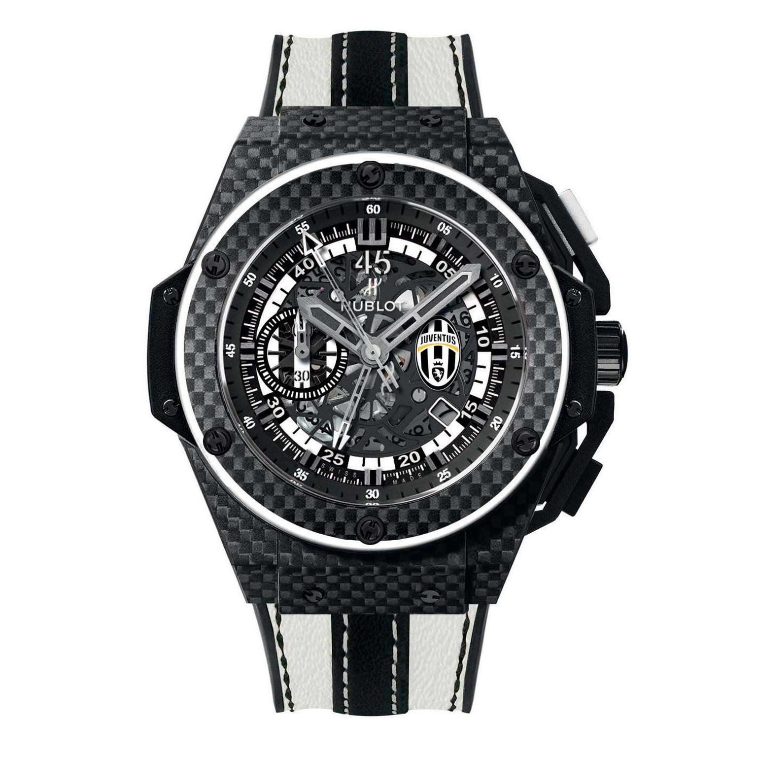 Hublot King Power Juventus chronograph