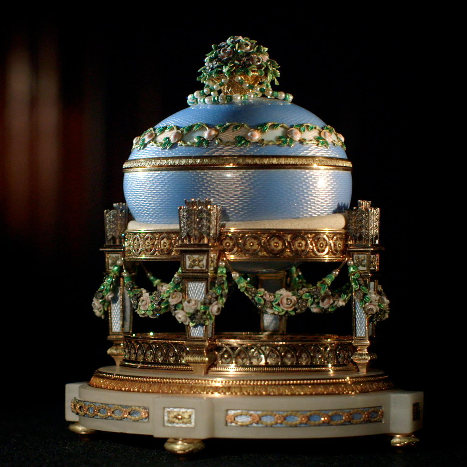 The Faberge Love Trophy egg