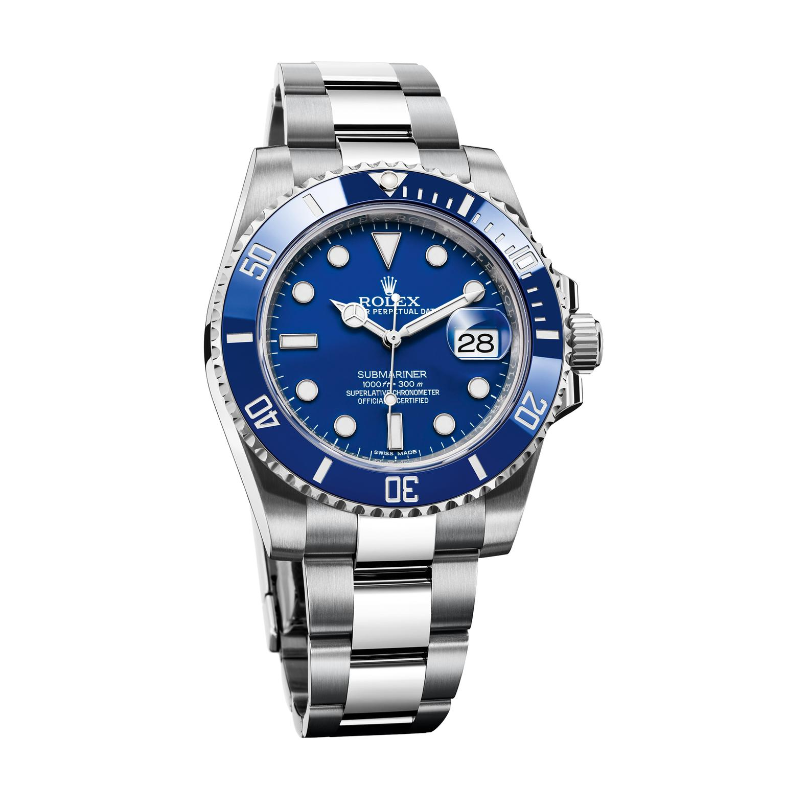 Rolex Submariner 40mm white gold