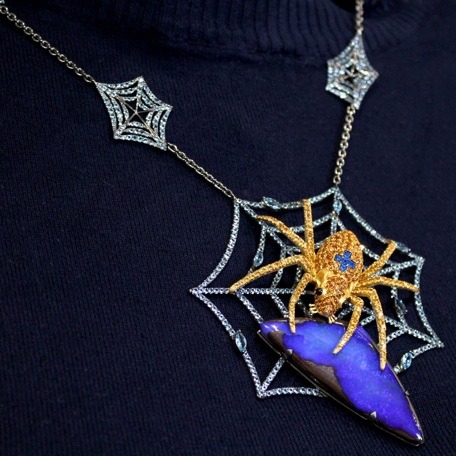 Lydia Courteille Spider Mouse necklace