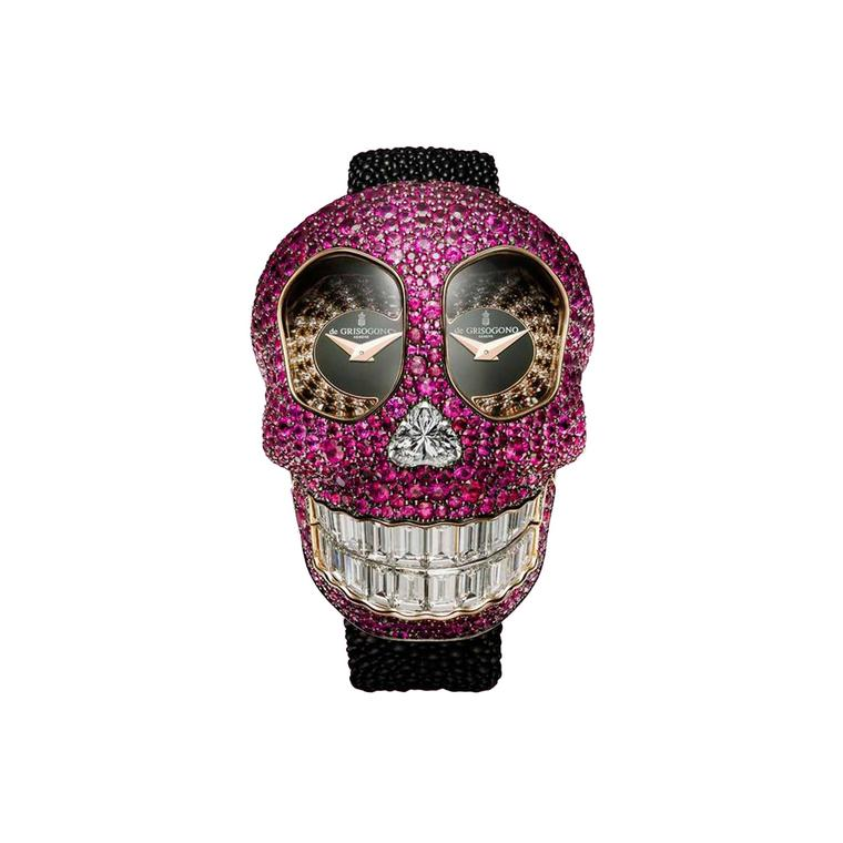 de GRISOGONO Crazy Skull watch