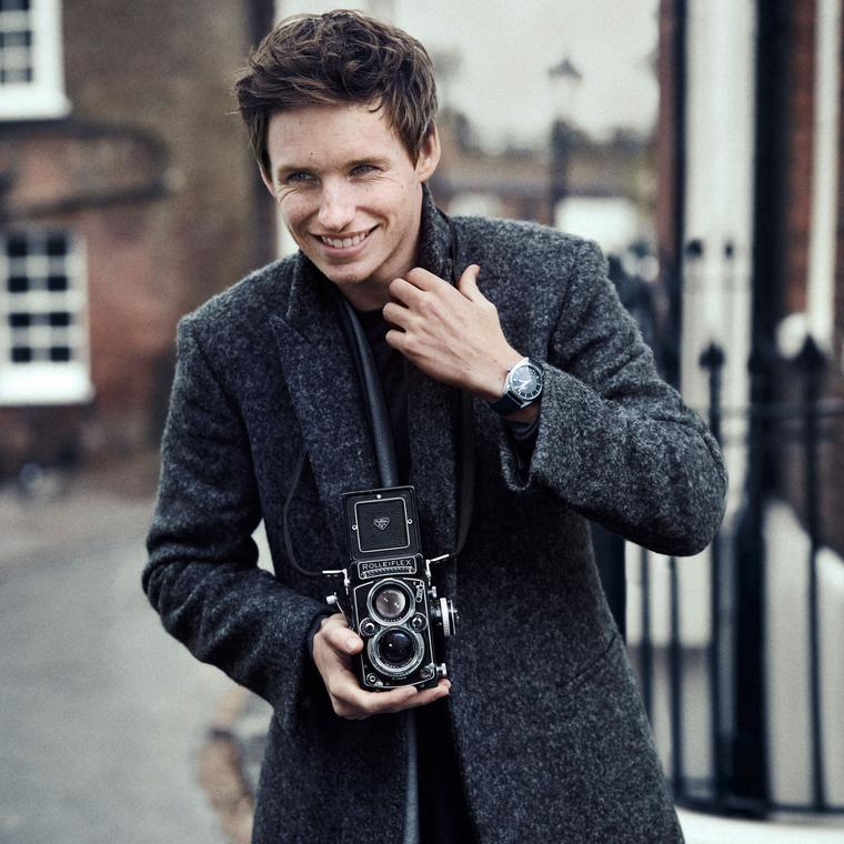 Omega watches and Eddie Redmayne: two class acts