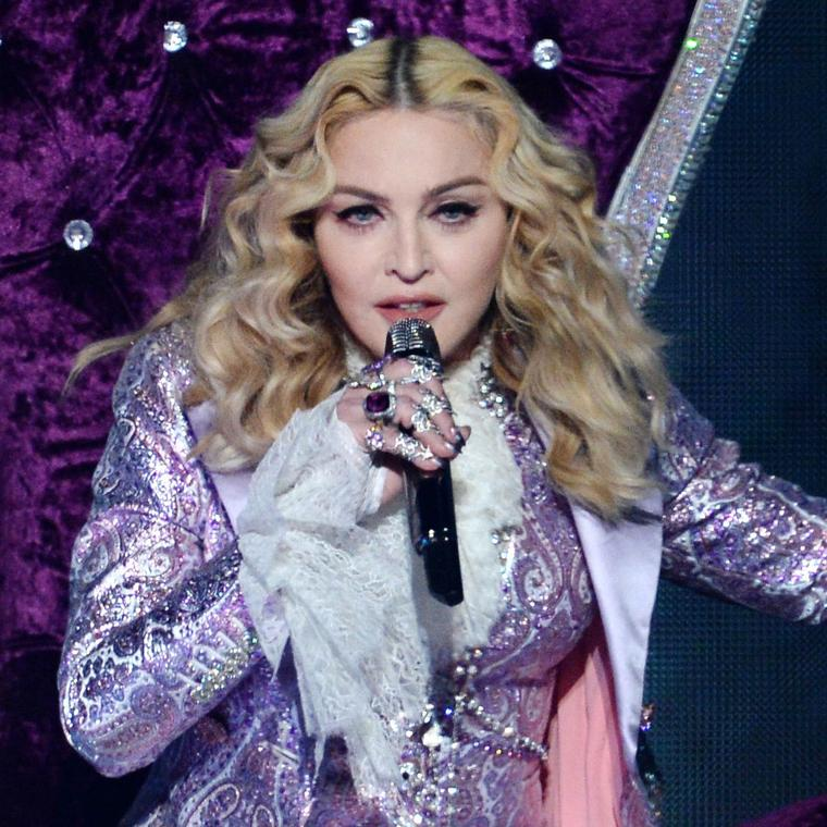 Madonna wearing Lydia Courteille at the Billboard Awards 2016