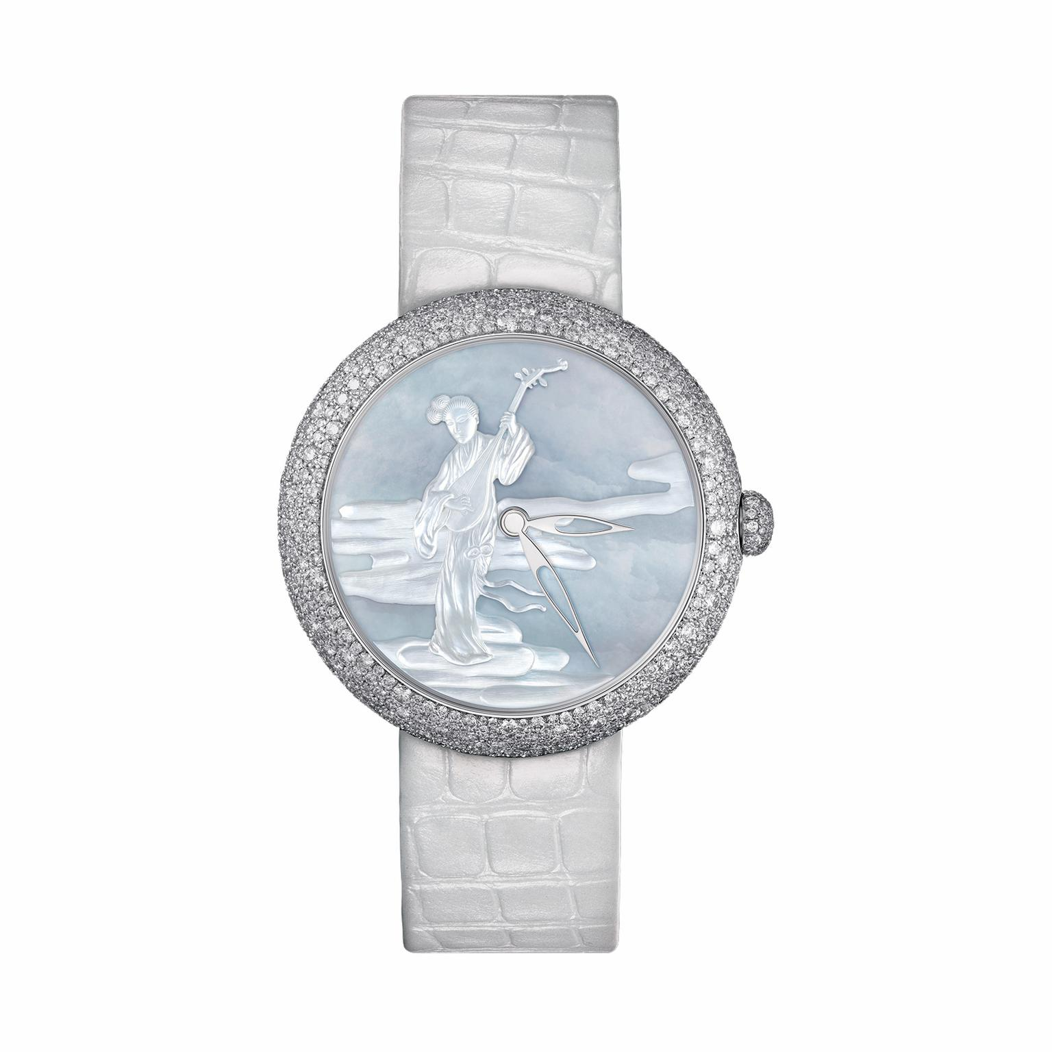 Chanel Decor Coromandel Musicienne diamond ladies' watch