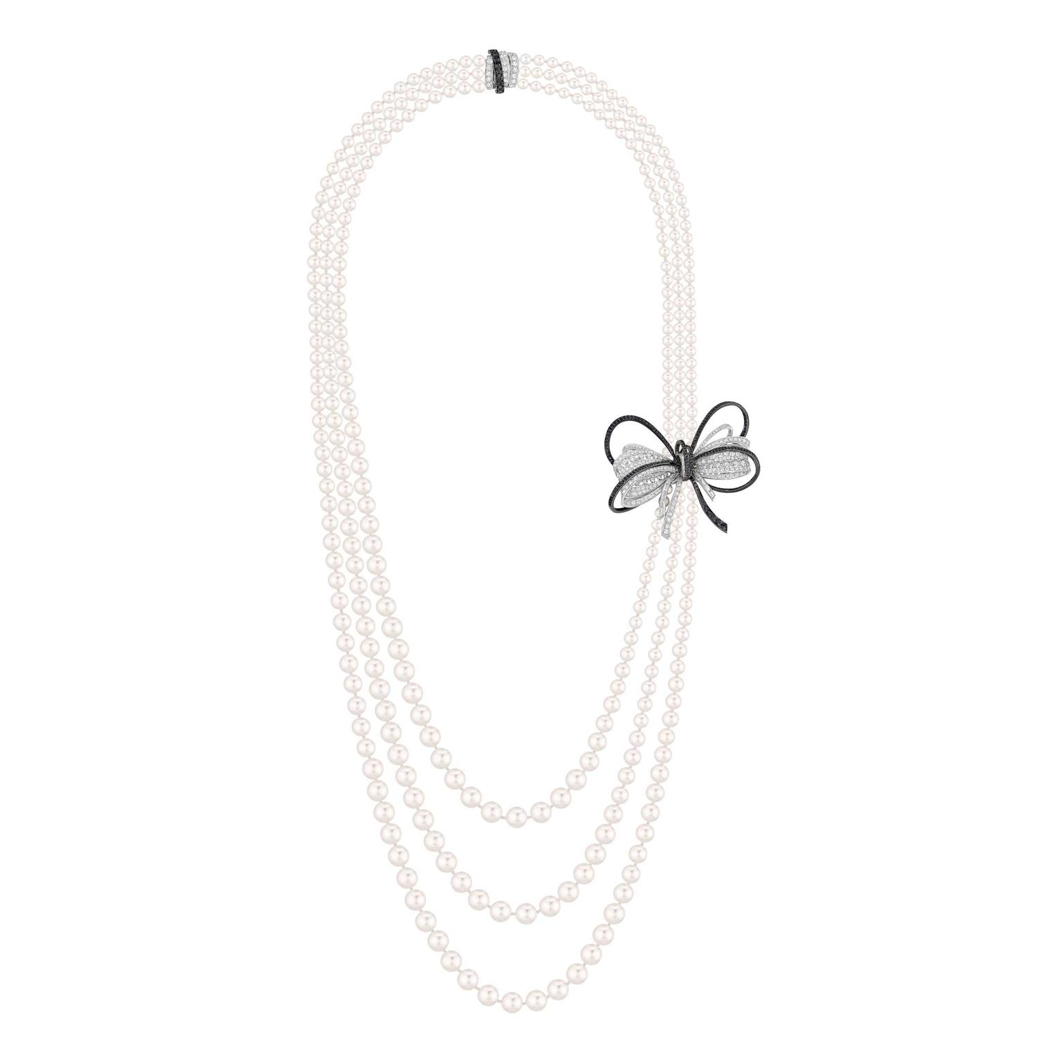 Chanel Collier Couture pearl necklace