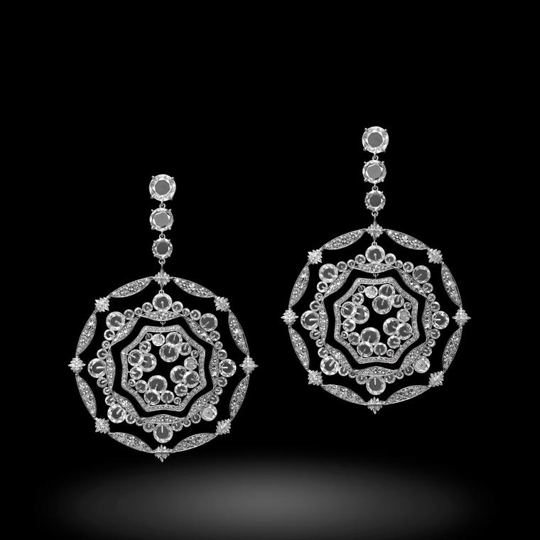Michelle Ong Diamond Fantasy earrings