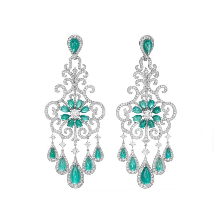 Chopard Red Carpet collection Paraiba tourmaline earrings