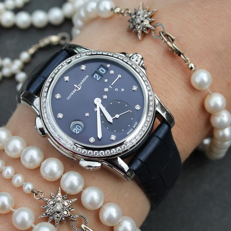Ulysse Nardin nails it with the Classic Lady Dual Time