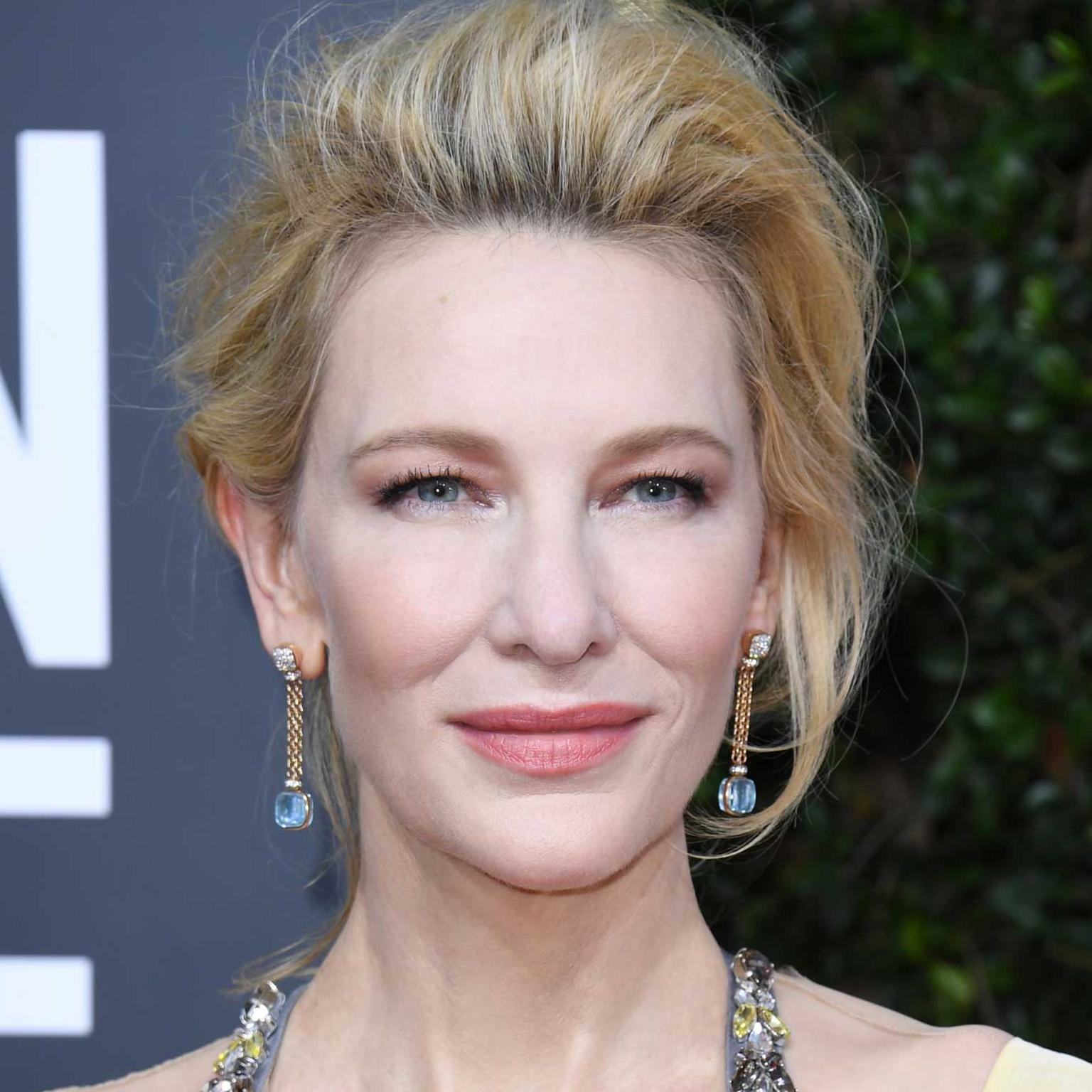 Cate Blanchett in Pomellato jewels Golden Globes 2020