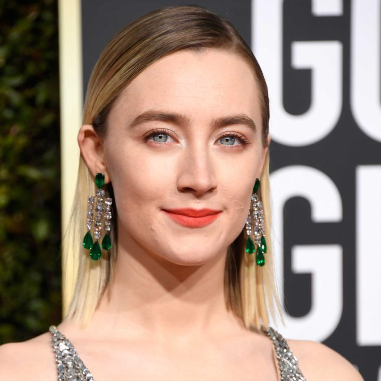 Saoirse Ronan Golden Globes Chopard jewels 2019