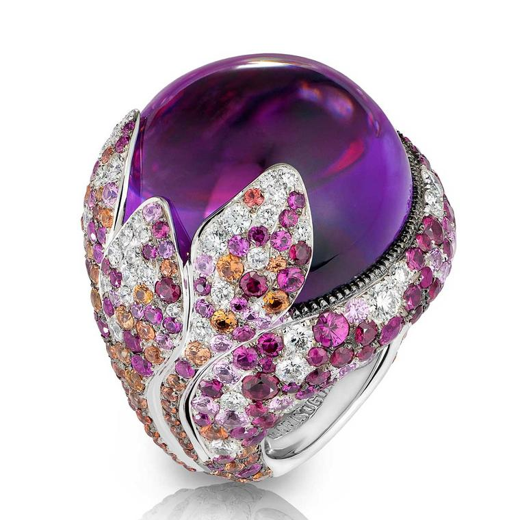 De Grisogono Melody of Colours amethyst ring £54000