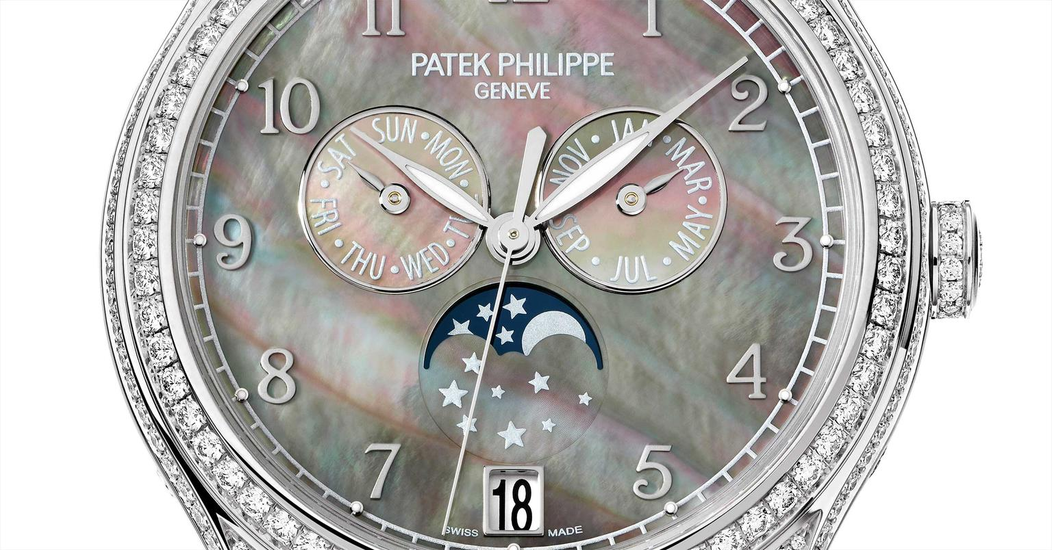 Patek Philippe ladies' moonphase watch new for 2015