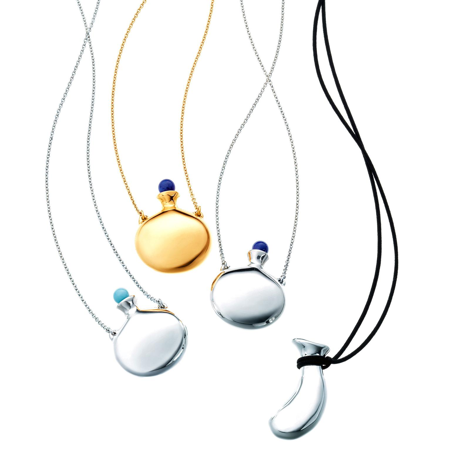 Elsa Peretti Bottle pendant necklaces